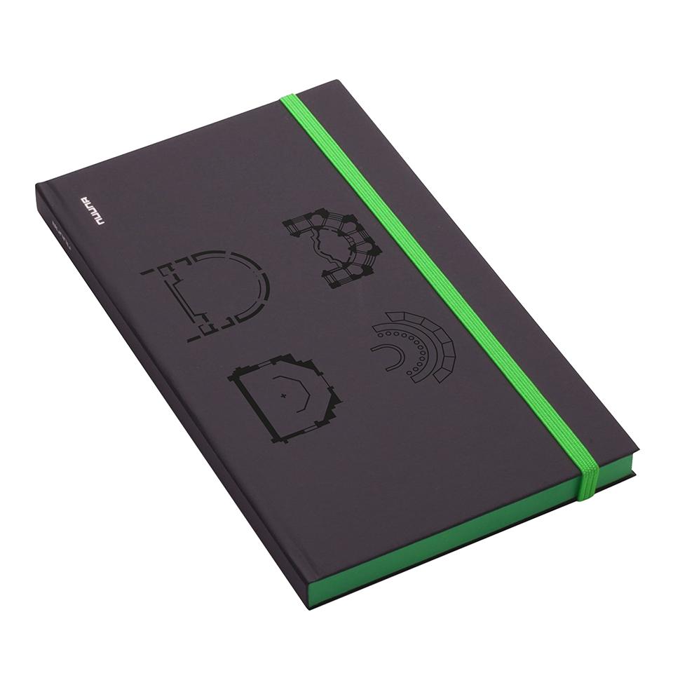 Notizbuch grün - Dresden eDition