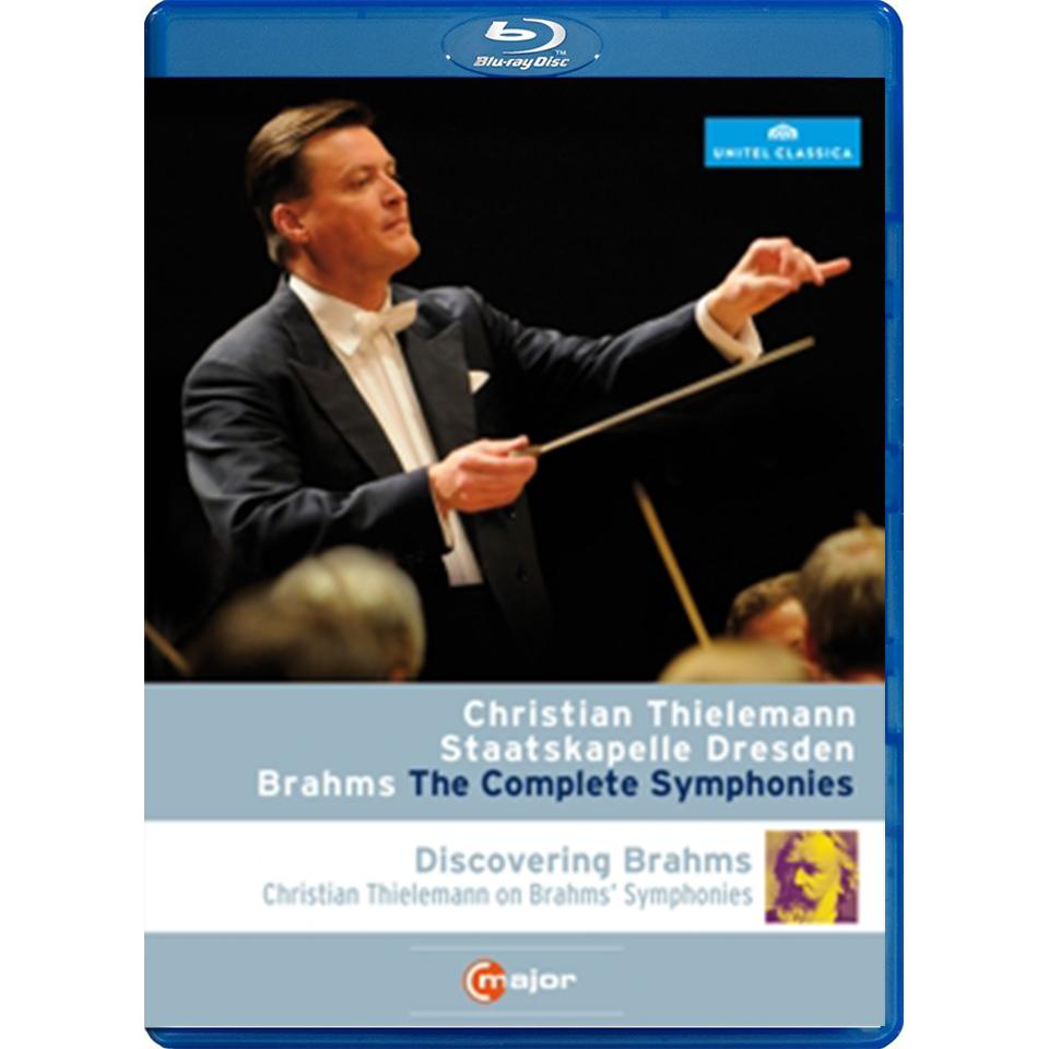 Johannes Brahms: Sinfonien 1 - 4 (2 Blu-rays)