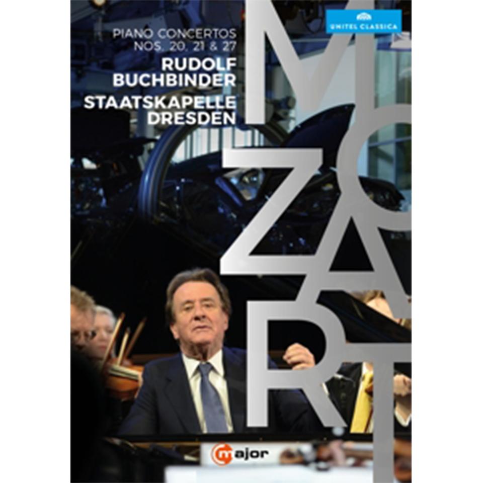 (DVD) Rudolf Buchbinder: Mozart Klavierkonzerte