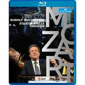 (Blu-ray) (DVD) Rudolf Buchbinder: Mozart Klavierkonzerte