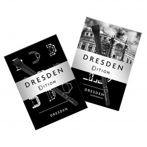Postkartenset mit Kugelschreiber - Dresden eDition