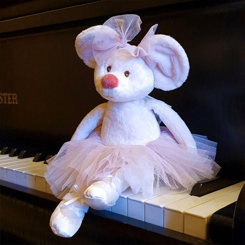 Soft Toy Dancing Antonia Pink