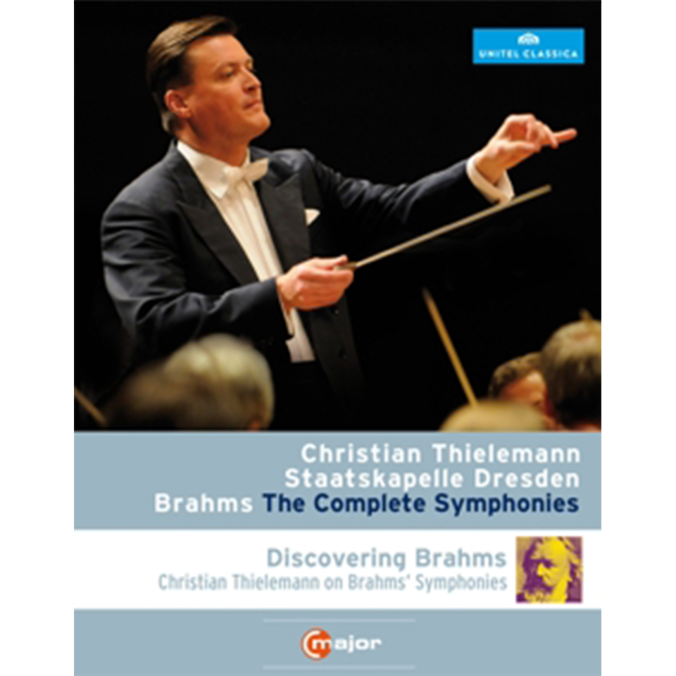 Johannes Brahms: Sinfonien 1 - 4 (3 DVDs)