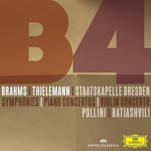 Brahms-Box: Sinfonien 1-4, Klavierkonzerte 1 & 2, Violinkonzert